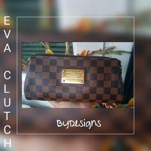 Authentic Eva Clutch Cross Body Bag